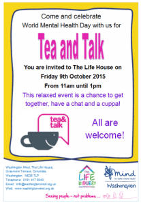 Tea and Talk 2015
