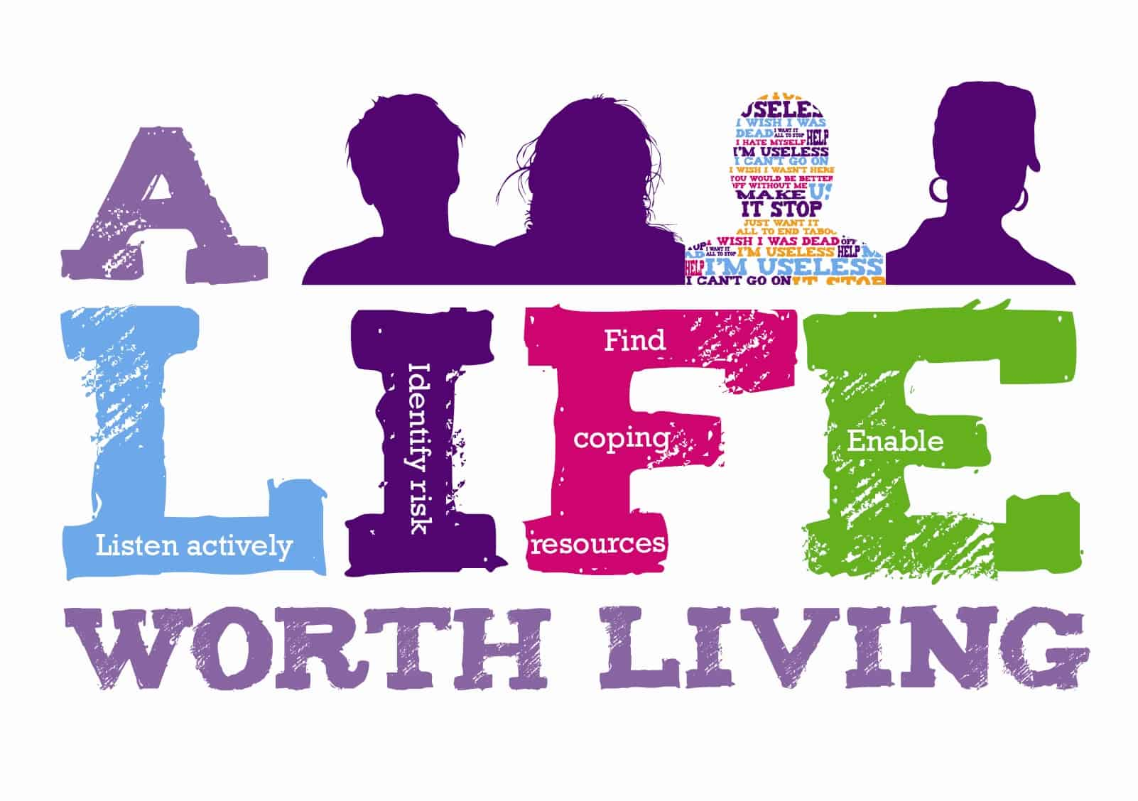 Header image for South Tyneside A LIFE Worth Living Suicide prevention training