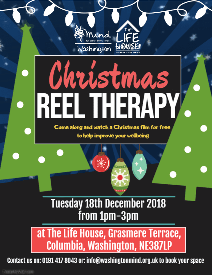 Header image for Christmas Reel Therapy